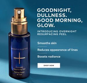 Overnight Resurfacing Peel | Beautycounter