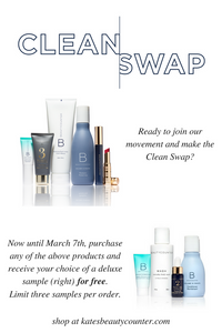 Safer Beauty Swaps | Beautycounter | Holistic Kate