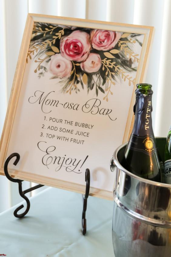 Mom-osa Bar Sign