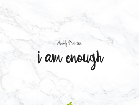 6.13.16: I am Enough