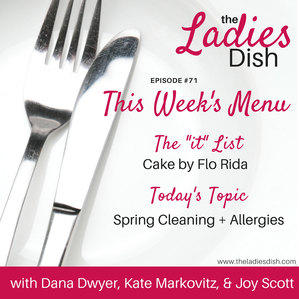 Allergies & Spring Cleaning | The Ladies Dish