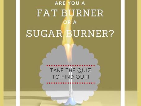 Are your a Sugar Burner or a Fat Burner?