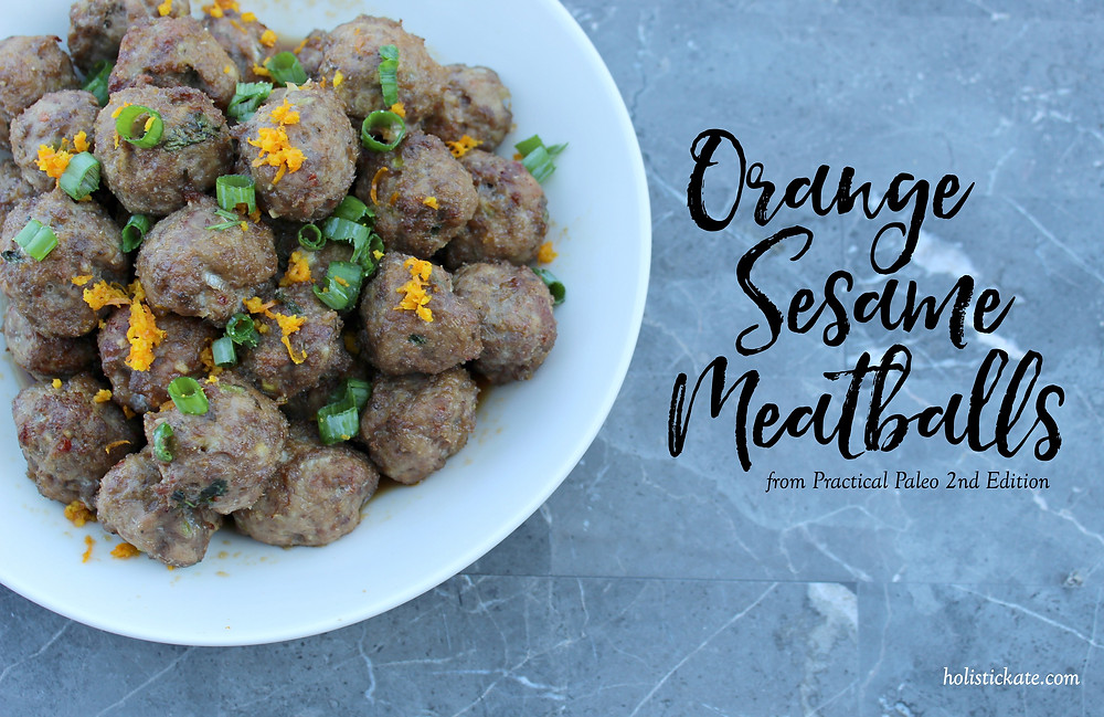 Orange Sesame Meatballs | Practical Paleo