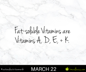 Fat-soluble vitamins