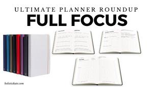 Full Focus Ultimate Planner Roundup