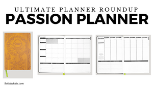Passion Planner Ultimate Planner Roundup