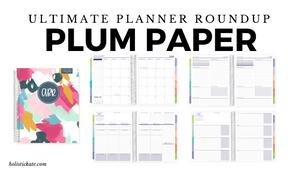 Plum Paper Planner Ultimate Planner Roundup