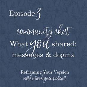 Community Chat: What messages are you hearing? [Episode 3]