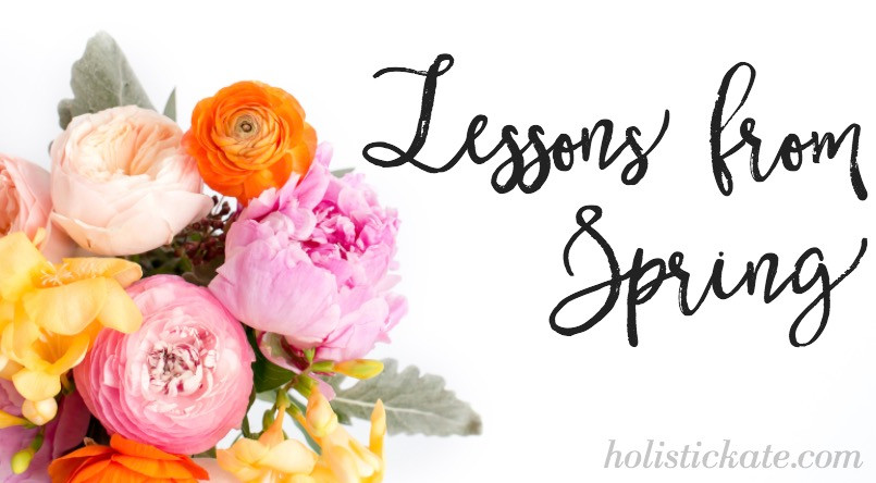 Lessons from Spring | Kate Markovitz | Holistic Kate
