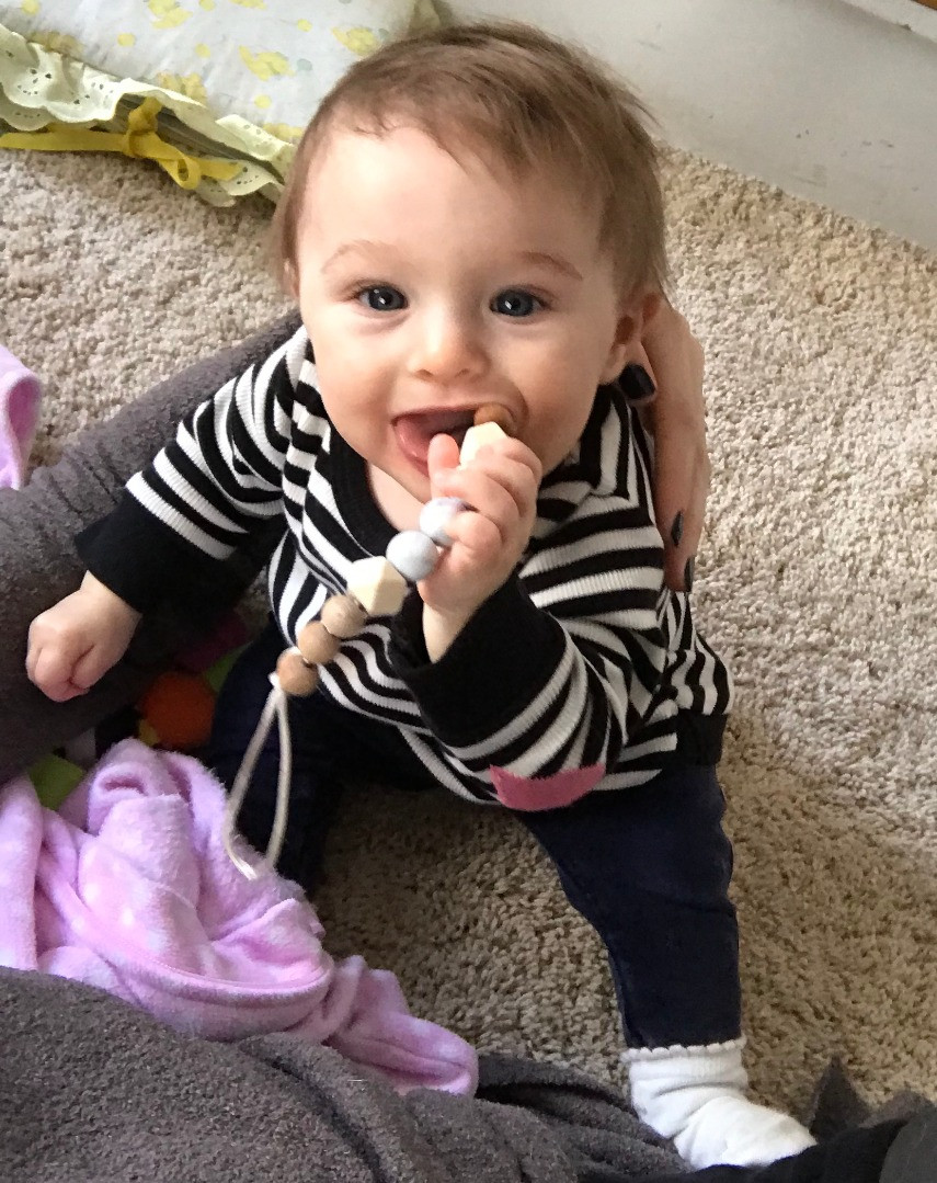 Chewing Pacifier Clip Teether