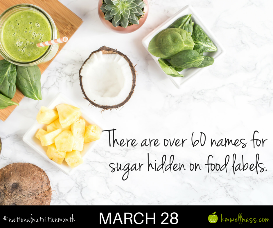 Names for sugar