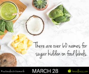 Names for sugar