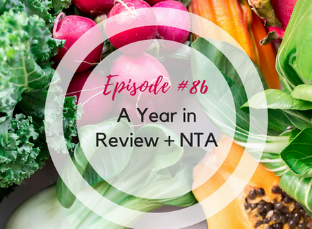 The Ladies Dish #86: A Year in Review + NTA