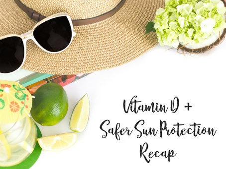 Vitamin D + Safer Sun Protection in a Nutshell