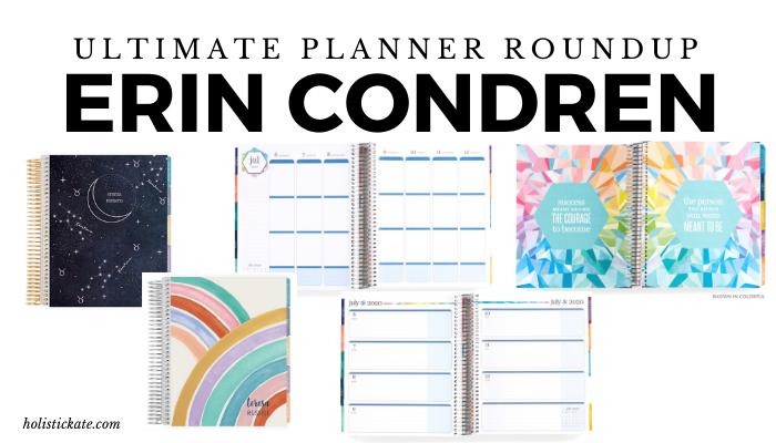 Erin Condren Ultimate Planner Roundup