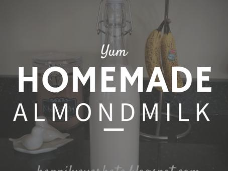 [RECIPES] Homemade Almondmilk + BONUS Homemade Almond Flour!