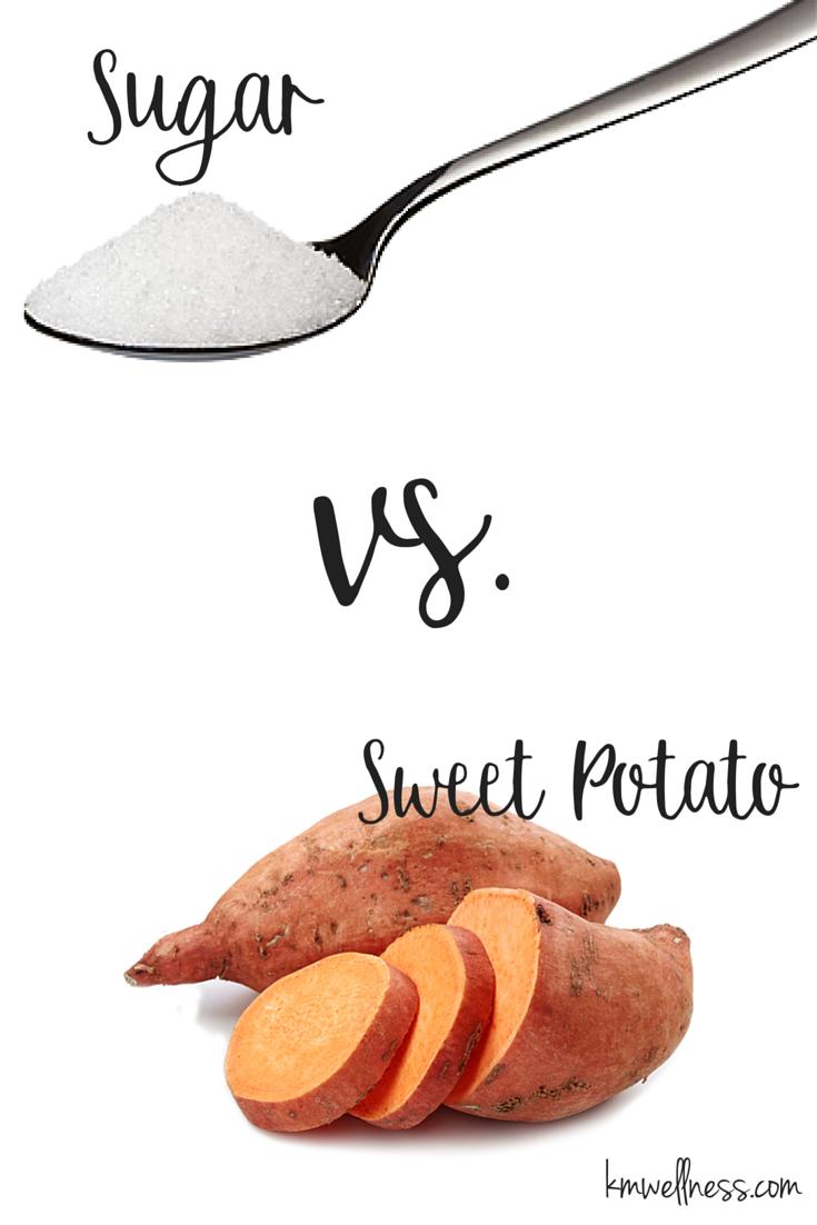 Sugar vs. Sweet Potato