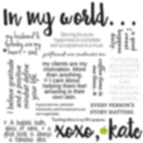 Kate Markovitz Manifesto
