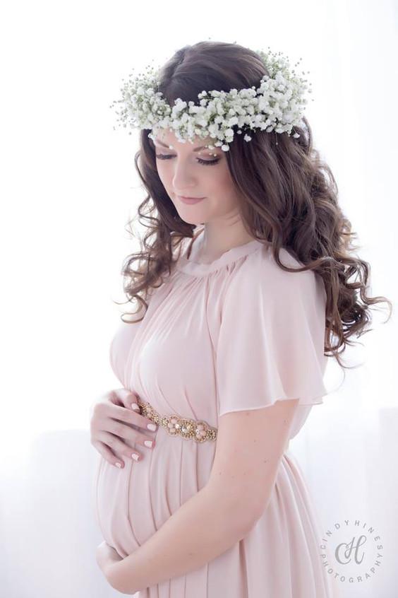 Maternity Photo Angelic