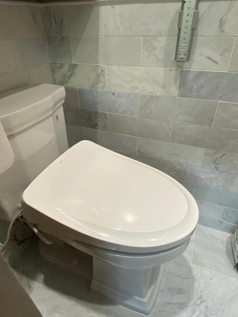 Updraded Casita Toilet
