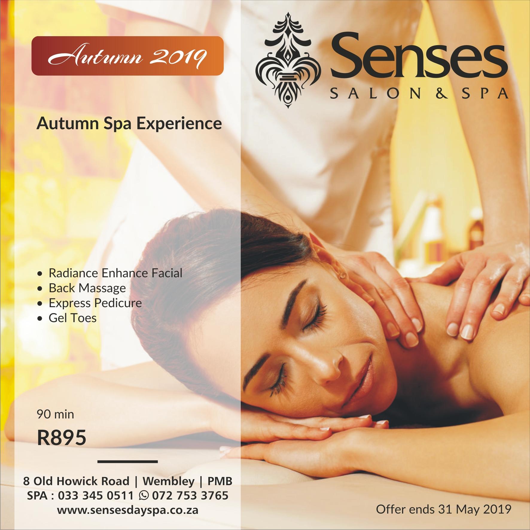 Home   Senses Salon & Spa   Pietermaritzburg