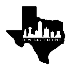 DFW Bartending in TEXAS logo transparent