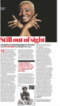 Uncut Magazine features Martha High