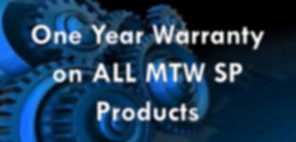 MTW SP Warranty