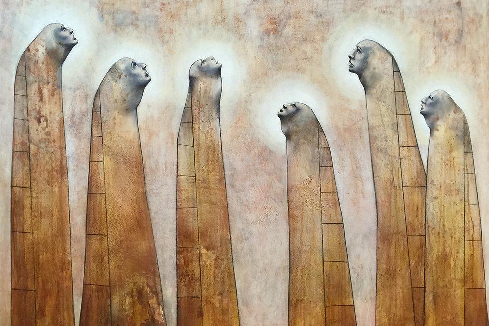 Angela_Alés,_Seekers,_oil_on_canvas,_60_