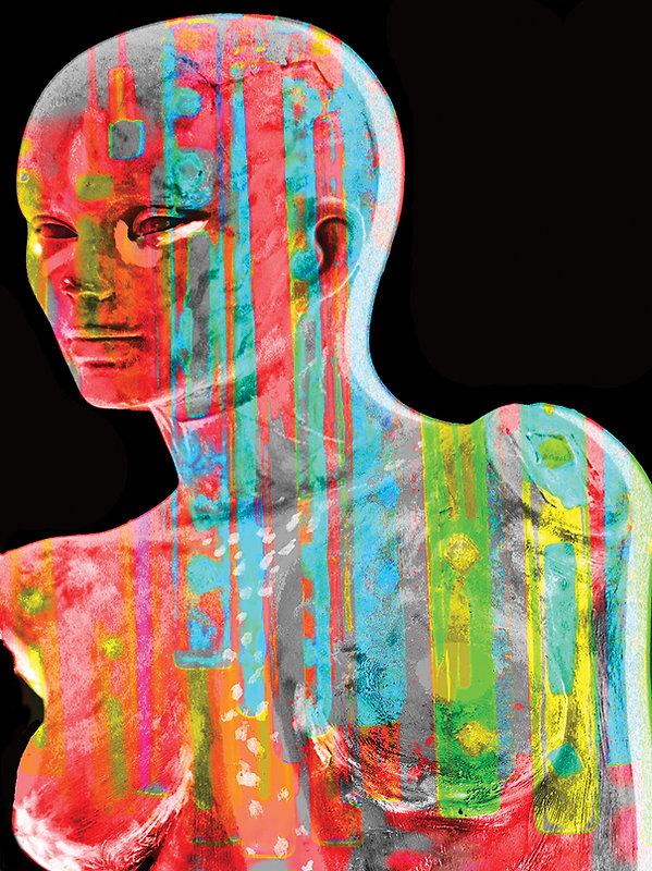 William_Hough,_Rainbow_Woman,_2013,_Phot