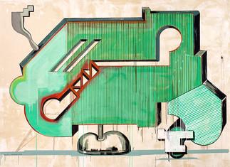 Néstor Arenas, abstracción y sintaxis de la utopía
