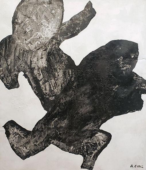 Antonia Eiriz, Figuras, 1965, mixed medi
