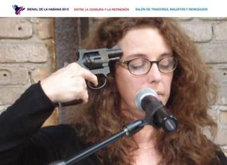 Un artista secuestra la Bienal de La Habana