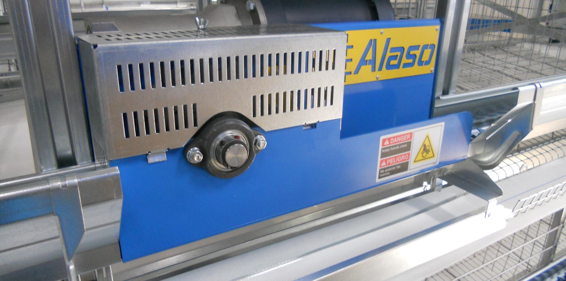 Alaso Flat Chain Feeding System