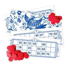 лото, русское лото, русское, премиум, loto, bingo, бинго, удача, азарт, выигрыш, куш, большой куш, на интерес, десткая, семейная, традиционная, классическая, азартная игра, бочонки, с цифрами, тянуть из мешка, карточки с цифрами, закрывать цифры, русский стиль, а ля рус, а-ля рюс, гжель, тиснение, золото, фольга, подарок, сувенир, из россии, с любовью, подарочная, сувенирная, декоданс, деревянные, из дерева, блеф, сквирл, игра, настольная, skvirl
