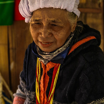 People Of The Karen Hill Tribe