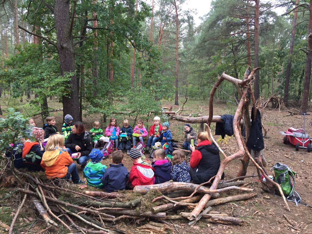 waldkindergarten gathered