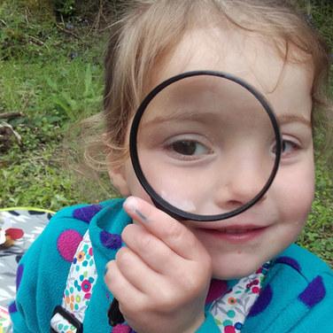 Du matériel pédagogique est toujours mis à la disposition des enfants.
