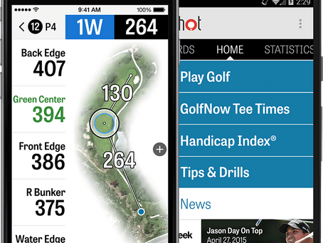 The 6 best apps to play golf!