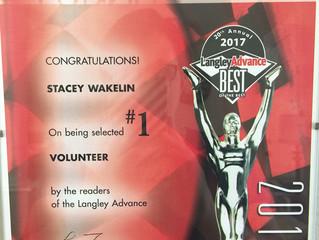 Langley Best of the Best Volunteer Award