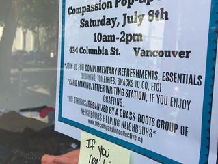 Compassion Pop-up #2…a SUCCESS!
