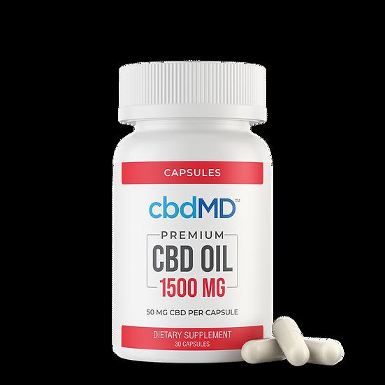 cbdMD 1500mg Oil Capsules
