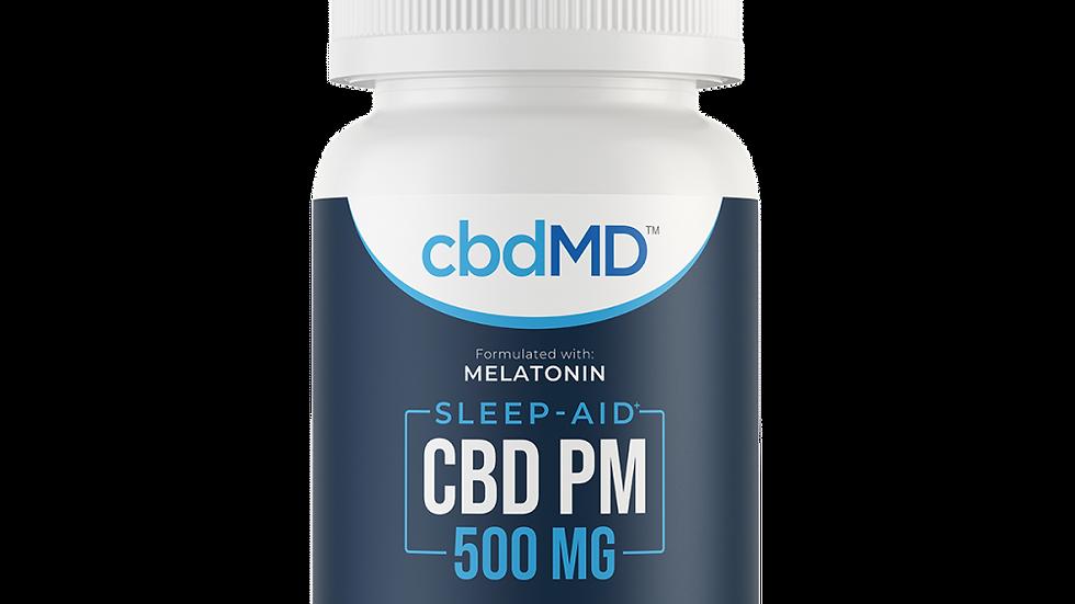 CBD PM Softgel Capsules - 500 mg - 30 Count