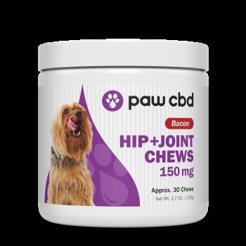 pawCBD 150mg CBD Hip+Joint Chew