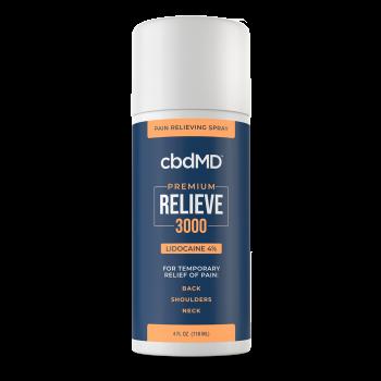 cbdMD 3000mg Relieve Spray