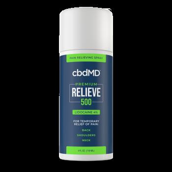 cbdMD Relieve 500mg Spray