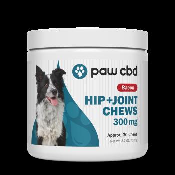 pawCBD 300mg CBD Hip+Joint Chew