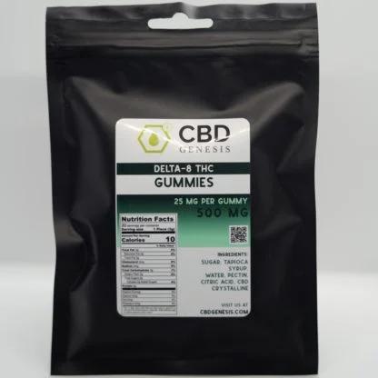 CBD Genesis Delta-8 500mg Gummies