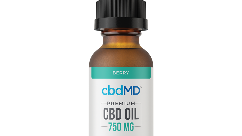 CBD Oil Tincture - Berry - 750 mg - 30 ml