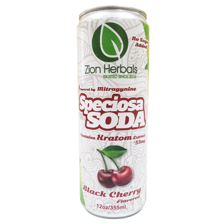 Zion Herbals Speciosa Soda 55mg